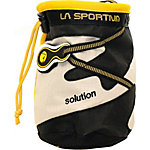 La Sportiva Solution Chalkbag schwarz/beige