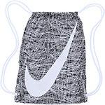Nike Turnbeutel Damen schwarz/weiß