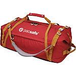 Pacsafe Duffelsafe AT80 Reisetasche rot/khaki