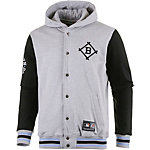 Majestic Athletic BROOKLYN DODGERS Collegejacke Herren graumelange