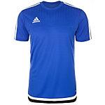 adidas Tiro 15 Funktionsshirt Herren blau / weiß