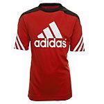 adidas Sereno 14 Funktionsshirt Kinder rot / schwarz