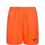 Nike Laser II Fußballshorts Kinder orange / schwarz