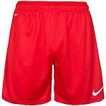 Nike Park Knit Fußballshorts Herren rot / weiß