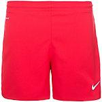 Nike Woven Short Fußballshorts Damen rot / weiß