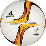 adidas Europa League Official Matchball Größe 5 Fußball weiß / gold / rot