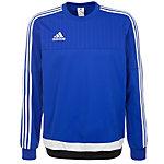 adidas Tiro 15 Sweatshirt Herren blau / weiß