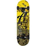AREA Danger Beat Skateboard-Komplettset Gelb
