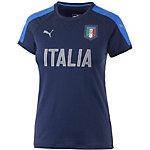 PUMA Italien EM 2016 Fanshirt Damen blau/weiß