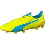 PUMA evoSpeed SL FG Fußballschuhe Herren gelb/blau