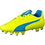 PUMA evoSpeed 4.4 FG Fußballschuhe Kinder gelb/blau