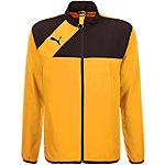 PUMA Esquadra Woven Trainingsjacke Herren gelb / schwarz