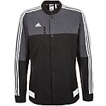adidas Tiro 15 Anthem Trainingsjacke Herren schwarz / weiß