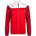 PUMA Esito 3 Tricot Trainingsjacke Herren rot / weiß