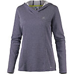 Salomon Elevate Funktionslangarmshirt Damen anthrazit