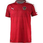 PUMA Österreich EM 2016 Heim Fußballtrikot Herren rot/weiß