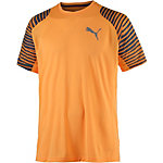 PUMA Vent Graphic Funktionsshirt Herren orange
