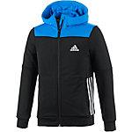 adidas Trainingsjacke Jungen schwarz/blau