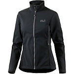 Jack Wolfskin Element Softshelljacke Damen schwarz