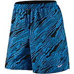Nike Distance Elevate Laufshorts Herren blau/schwarz