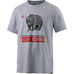 DC Loose Angeles Printshirt Herren graumelange