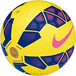 Nike Club Team Fußball Größe 5 Fußball gelb / lila / pink