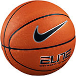 Nike Elite Championship 8-Panel Basketball orange / schwarz