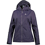 Salomon Crescent Outdoorjacke Damen grau/lila