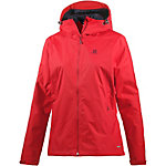 Salomon Crescent Outdoorjacke Damen rot