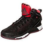 adidas Derrick Rose 6 Boost Basketballschuhe Herren schwarz / rot / weiß