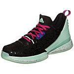 adidas Damian Lillard Basketballschuhe Herren schwarz / grün / pink