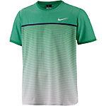 Nike Challenger Premier Crew Funktionsshirt Herren grün/weiß