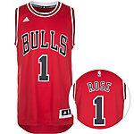 adidas Chicago Bulls Rose Swingman Basketball Trikot Herren rot / weiß