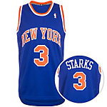 adidas New York Knicks Starks Swingman Basketball Trikot Herren blau / orange / weiß
