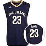 adidas New Orleans Pelicans Davis Basketball Trikot Herren dunkelblau / gold