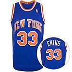 adidas New York Knicks Ewing Swingman Basketball Trikot Herren blau / orange / weiß