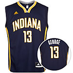 adidas Indiana Pacers George Basketball Trikot Herren dunkelblau / weiß