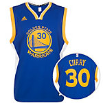 adidas Golden State Curry Replica Basketball Trikot Herren blau / gelb