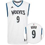 adidas Minnesota Timberwolves Rubio Replica Basketball Trikot Herren weiß / blau