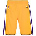 adidas LA Lakers NBA Swingman Basketball-Shorts Herren gelb / lila
