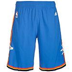 adidas Oklahoma City Thunder Swingman Basketball-Shorts Herren blau / orange