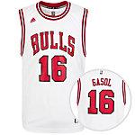 adidas Chicago Bulls Replica Gasol Basketball Trikot Herren weiß / rot