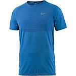 Nike Dri-Fit Knit Funktionsshirt Herren blau