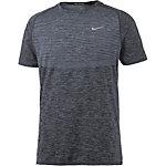 Nike Dri-Fit Knit Funktionsshirt Herren grau