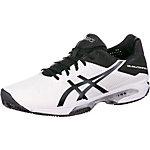 ASICS Gel-Solution Speed 3 Clay Tennisschuhe Herren weiß/schwarz/silber