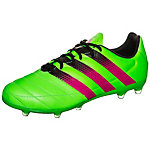 adidas ACE 16.2 Leather Fußballschuhe Herren grün / pink