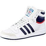 adidas Top Ten Hi Sneaker Herren weiß/schwarz