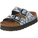 Birkenstock Arizona Sandalen Damen grau
