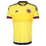 adidas Colombia Copa America 2015 Heim Fußballtrikot Herren gelb / dunkelblau