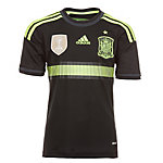 adidas Spanien WM 2014 Auswärts Fußballtrikot Kinder schwarz / gelb
